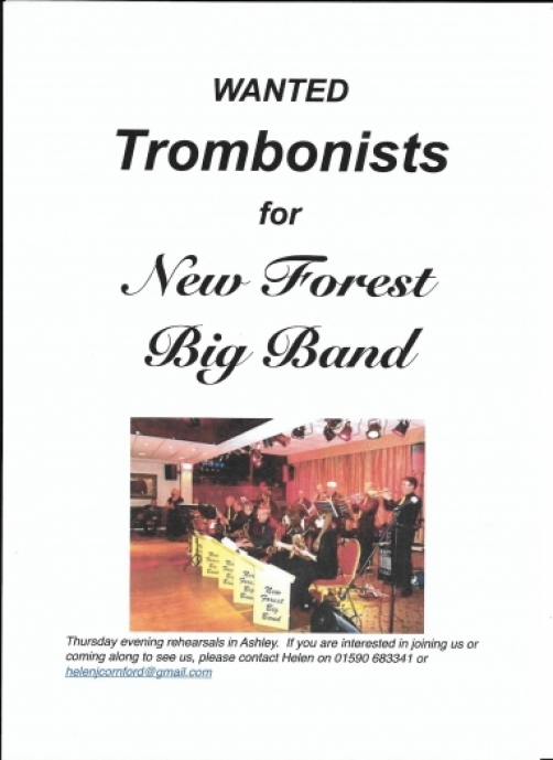 Trombonists Wanted